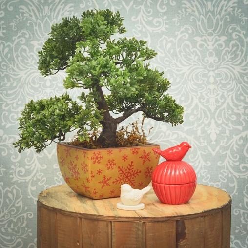 Arranjo de Bonsai Artificial - Formosinha Decorações