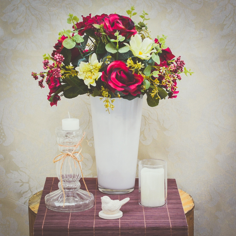 Arranjos de Rosas vermelhas para os apaixonados - Formosinha Decorações