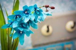 Orquídea nas cores do outono - Formosinha Decorações