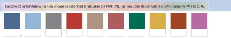 Paleta Pantone Outono 2016 - Formosinha Decorações