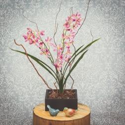Arranjo de Orquídea Artificial - Formosinha Decorações