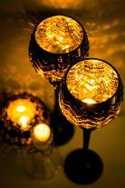 Castiçais e velas aromatizadas - Formosinha Decorações