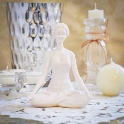 Estatueta Yoga - Formosinha Decorações