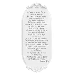 Placa Provençal Salmo 23 - Formosinha Decorações